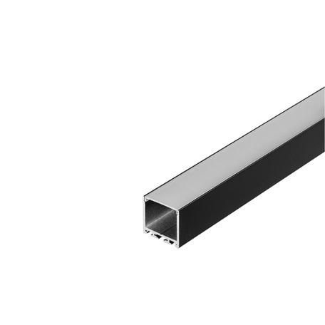 Накладной профиль для светодиодной ленты без рассеивателя SLV GLENOS Pro-3030 200 213620, черный, металл