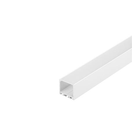 Накладной профиль для светодиодной ленты без рассеивателя SLV GLENOS Pro-3030 200 213621, белый, металл