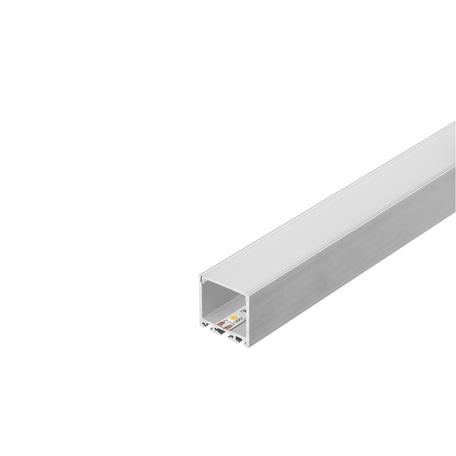 Накладной профиль для светодиодной ленты без рассеивателя SLV GLENOS Pro-3030 200 213624, серый, металл