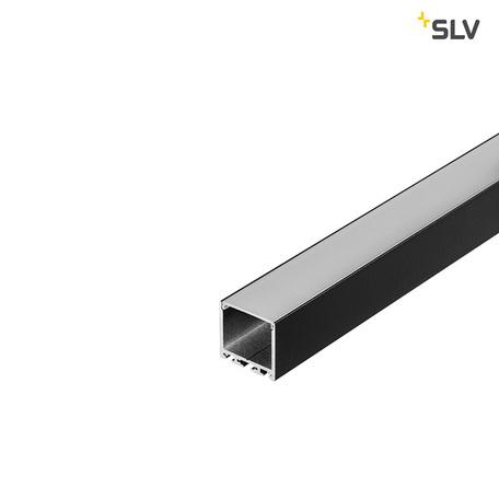 Накладной профиль для светодиодной ленты без рассеивателя SLV GLENOS Pro-3030 300 213630, черный, металл