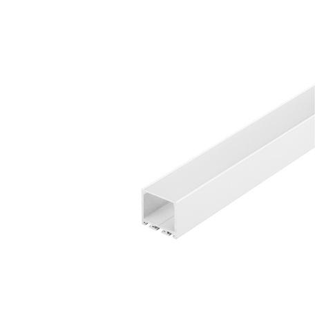 Накладной профиль для светодиодной ленты без рассеивателя SLV GLENOS Pro-3030 300 213631, белый, металл