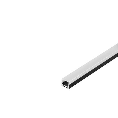 Накладной профиль для светодиодной ленты с рассеивателем SLV GLENOS Pro-2020 200 213440, черный, белый