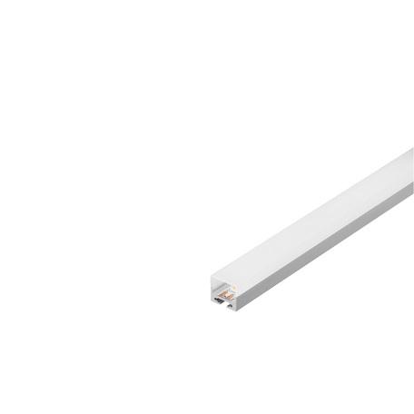 Накладной профиль для светодиодной ленты с рассеивателем SLV GLENOS Pro-2020 200 213444, алюминий, белый