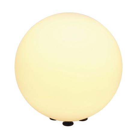 Садовый светильник SLV ROTOBALL FLOOR 40 227220, IP44, 1xE27x24W, белый, пластик