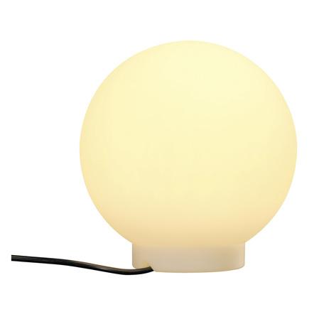 Садовый светильник SLV ROTOBALL FLOOR 25 227219, IP44, 1xE27x24W, белый