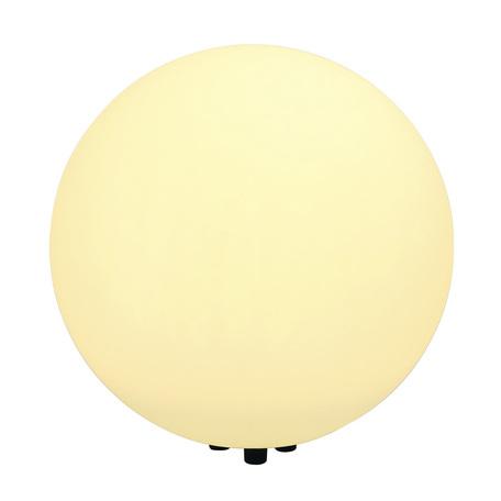 Садовый светильник SLV ROTOBALL FLOOR 50 227221, IP44, 1xE27x24W, серый, белый