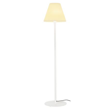 Садовый светильник SLV ADEGAN 228961, IP54, 1xE27x24W, белый
