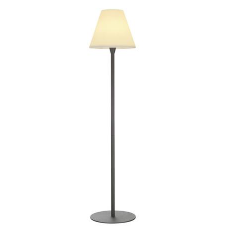 Садовый светильник SLV ADEGAN 228965, IP54, 1xE27x24W, серый, белый