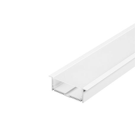 Встраиваемый профиль для светодиодной ленты с рассеивателем SLV GLENOS Pro-8832 200 213511, белый, металл, пластик