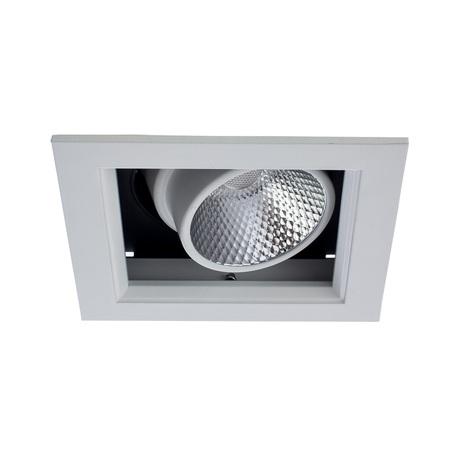 Arte Lamp Cardani A1712PL-1WH, LED 12W, 3000K (теплый), белый, черный