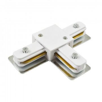 T-образный соединитель питания для треков Arte Lamp Instyle A140033, белый, пластик