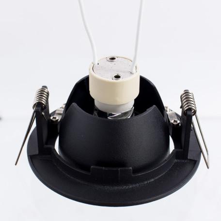Встраиваемый светильник Arte Lamp Instyle Accento A4009PL-1BK, 1xGU10x50W, черный, металл - миниатюра 3