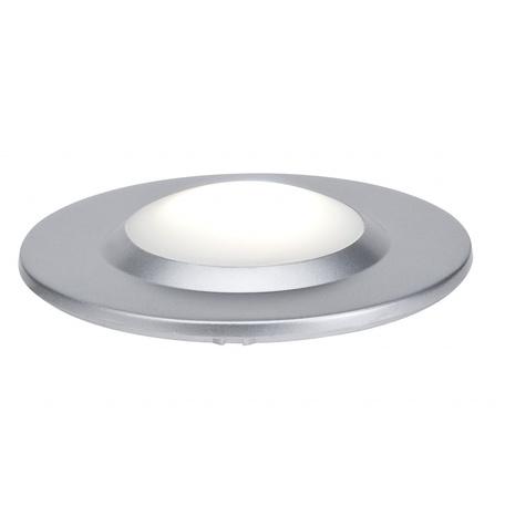 Встраиваемый настенный светодиодный светильник Paulmann Special Line UpDownlight Highpower 98872, IP44, LED 3W, матовый хром, металл