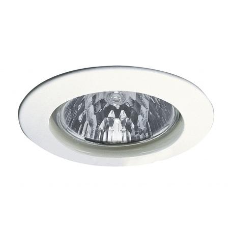 Встраиваемый светильник Paulmann Premium Line Halogen 12V GU5,3 51mm 98932, IP44, 1xGU5.3x50W, белый, металл