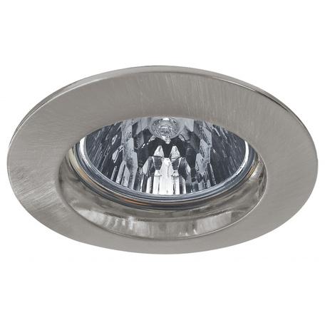 Встраиваемый светильник Paulmann Premium Line Halogen 12V GU5,3 51mm 98933, IP44, 1xGU5.3x50W, матовый хром, металл