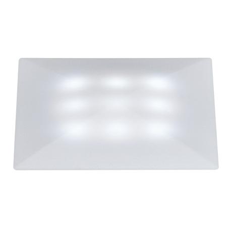 Встраиваемый в уличное покрытие светодиодный светильник Paulmann Special Line Quadro 98862, IP67, LED 1W, белый, пластик