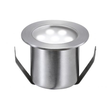 Встраиваемый в уличное покрытие светодиодный светильник Paulmann Special Line Mini Basic 98868, IP65, LED 0,6W, сталь, металл