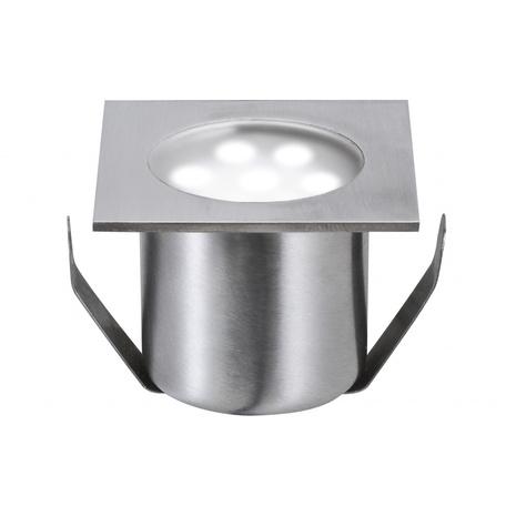 Встраиваемый в уличное покрытие светодиодный светильник Paulmann Special Line Mini Basic 98871, IP65, LED 0,6W, сталь, металл