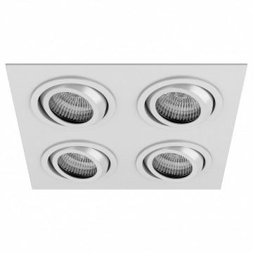 Встраиваемый светильник Lightstar Singo 011614, 1xGU5.3x50W