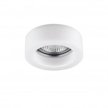 Встраиваемый светильник Lightstar Lei Mini 006136, 1xGU5.3x50W, белый, стекло
