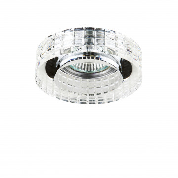 Встраиваемый светильник Lightstar Faceto 006350, 1xGU5.3x50W, прозрачный, стекло