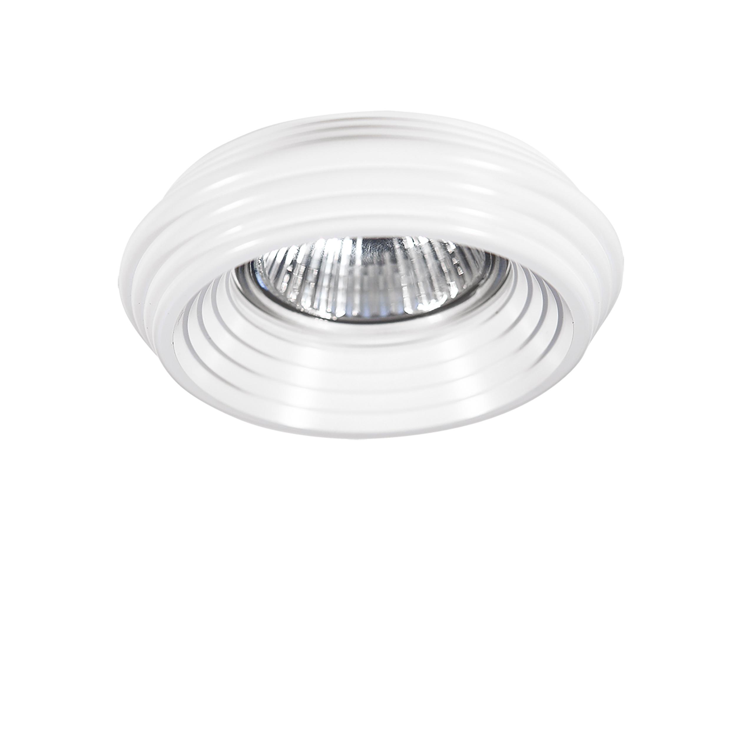 Встраиваемый светильник Lightstar Ringo 011000, 1xGU5.3x50W, белый, металл - фото 1
