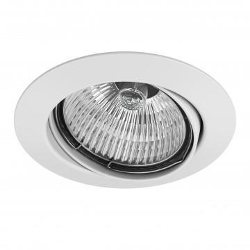 Встраиваемый светильник Lightstar Lega 16 011020, 1xGU5.3x50W, белый, металл