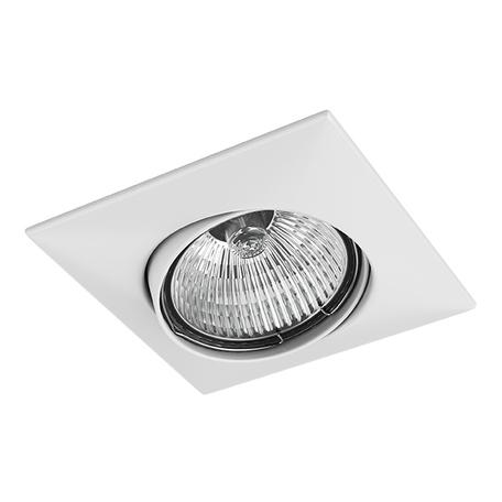 Встраиваемый светильник Lightstar Lega 16 011030, 1xGU5.3x50W, белый, металл
