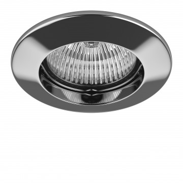 Встраиваемый светильник Lightstar Lega 11 011044, 1xGU5.3x50W, хром, металл