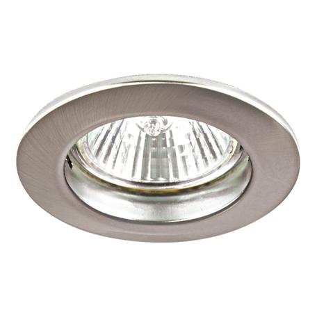 Встраиваемый светильник Lightstar Lega 11 011045, 1xGU5.3x50W, никель, металл