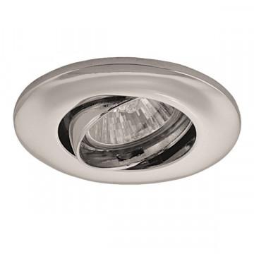 Встраиваемый светильник Lightstar Lega 11 011054, 1xGU5.3x50W, хром, металл