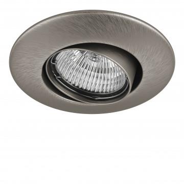 Встраиваемый светильник Lightstar Lega 11 011055, 1xGU5.3x50W, никель, металл