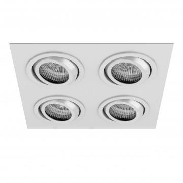 Встраиваемый светильник Lightstar Singo 011614, 1xGU5.3x50W, белый, металл