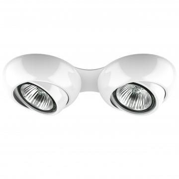 Встраиваемый светильник Lightstar Ocula 011826, 1xGU5.3x50W, белый, металл