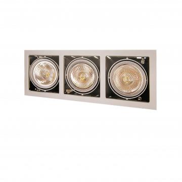 Встраиваемый светильник Lightstar Cardano 214137, 3xG53AR111x50W, сталь, металл