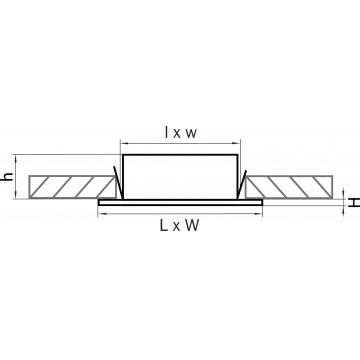 Схема с размерами Lightstar 212149