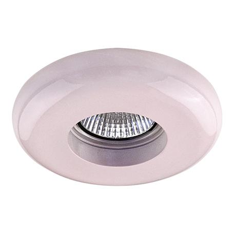 Встраиваемый светильник Lightstar Infanta 002752, 1xGU5.3x50W, розовый, пластик