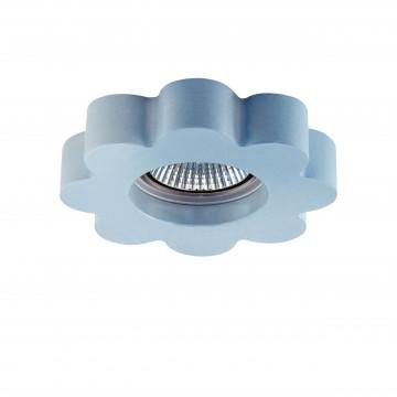 Встраиваемый светильник Lightstar Sole 002765, 1xGU5.3x50W, голубой, пластик