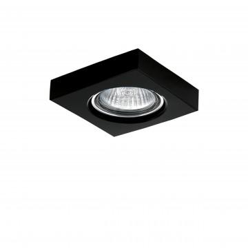 Встраиваемый светильник Lightstar Lui Micro 006167, 1xGU4x50W, черный, стекло