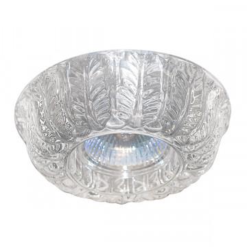Встраиваемый светильник Lightstar Petali 006331, 1xGU5.3x50W, прозрачный, стекло