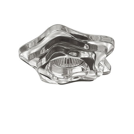 Встраиваемый светильник Lightstar Medusa 006410, 1xGU5.3x50W, прозрачный, стекло - миниатюра 1