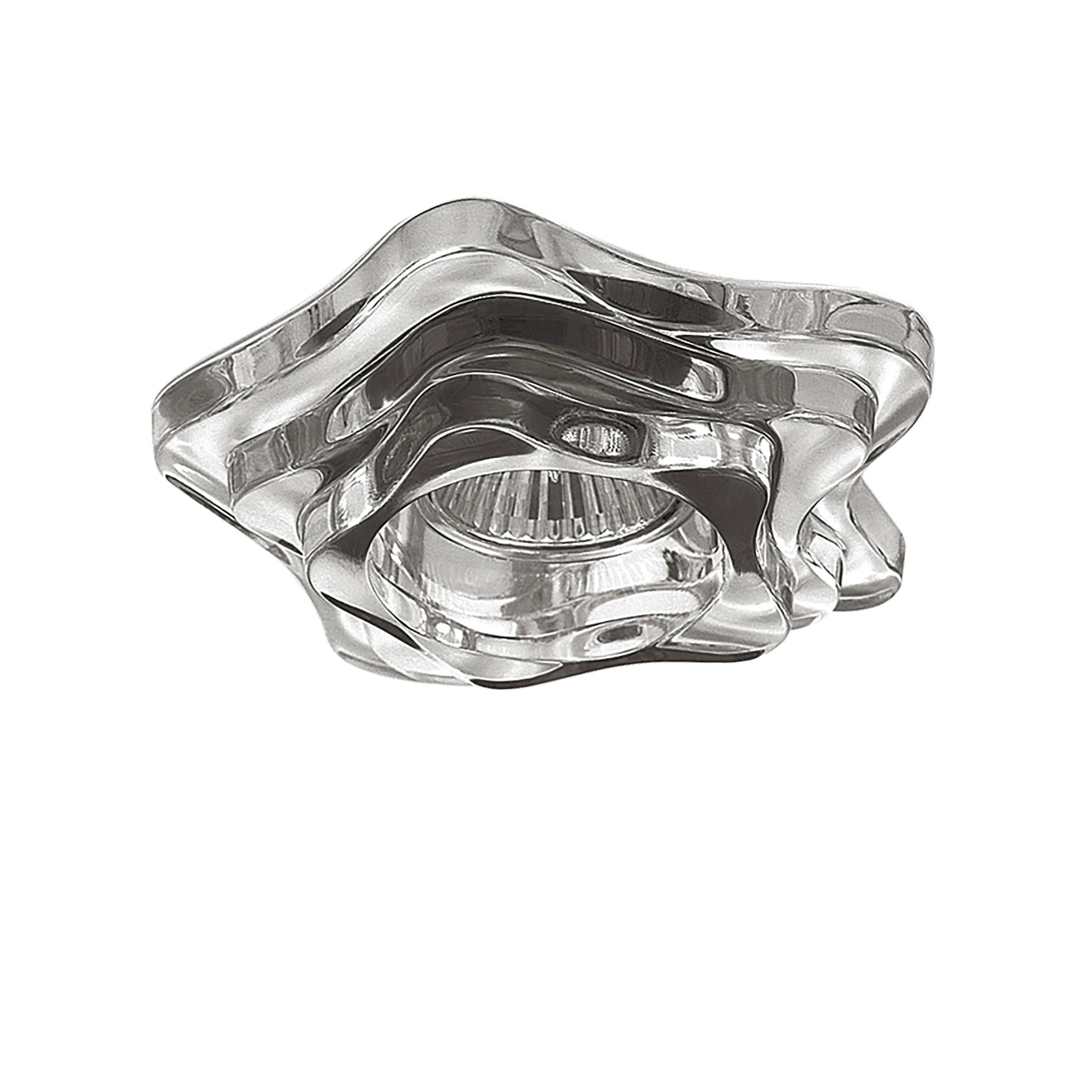 Встраиваемый светильник Lightstar Medusa 006410, 1xGU5.3x50W, прозрачный, стекло - фото 1