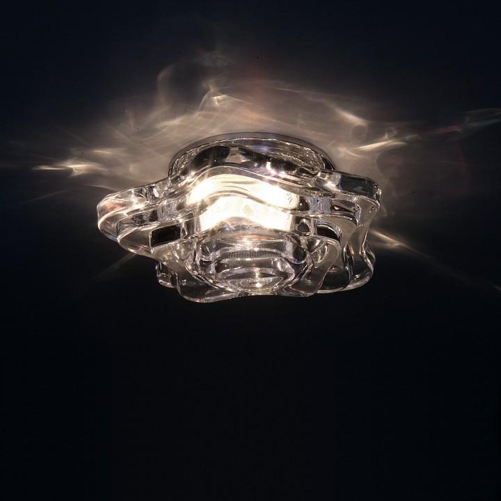 Встраиваемый светильник Lightstar Medusa 006410, 1xGU5.3x50W, прозрачный, стекло - фото 2