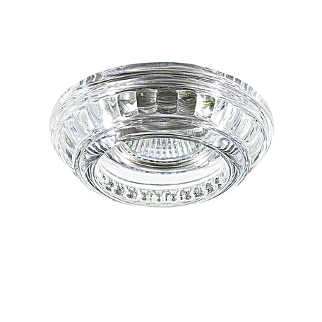 Встраиваемый светильник Lightstar Proto 006610, 1xGU5.3x50W, прозрачный, стекло