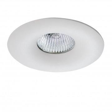 Встраиваемый светильник Lightstar Levigo 010010, 1xGU5.3x50W, белый, металл