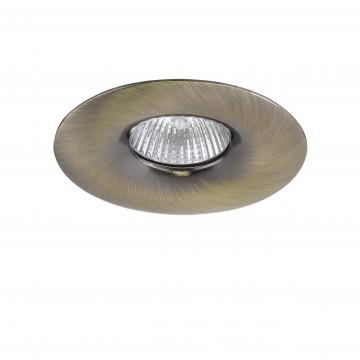 Встраиваемый светильник Lightstar Levigo 010011, 1xGU5.3x50W, бронза, металл