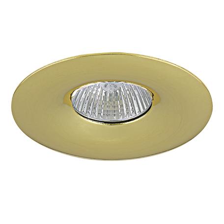 Встраиваемый светильник Lightstar Levigo 010012, 1xGU5.3x50W, золото, металл - миниатюра 1
