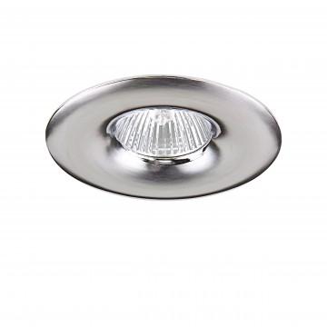 Встраиваемый светильник Lightstar Levigo 010014, 1xGU5.3x50W, хром, металл
