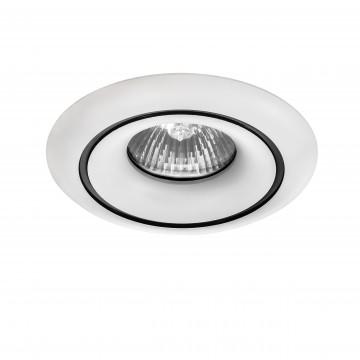 Встраиваемый светильник Lightstar Levigo 010016, 1xGU5.3x50W, белый, металл