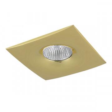 Встраиваемый светильник Lightstar Levigo 010032, 1xGU5.3x50W, золото, металл
